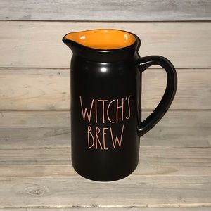 Rae Dunn WITCH'S BREW Halloween Pitcher